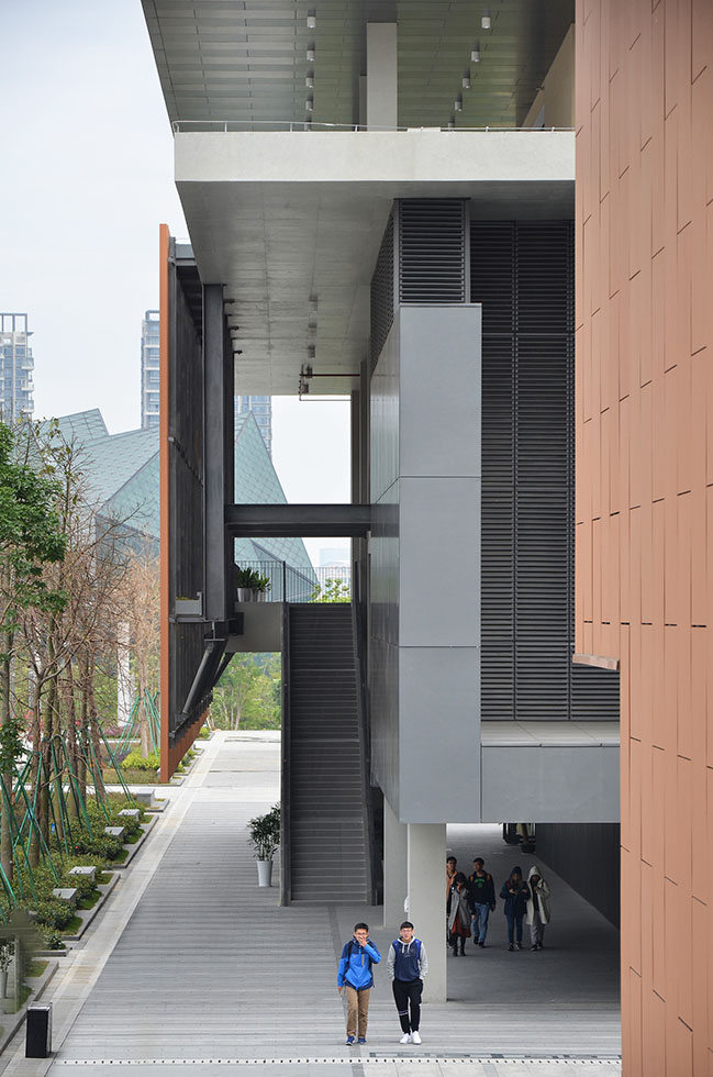 Chinese University of Hong Kong campus by Rocco Design Architects