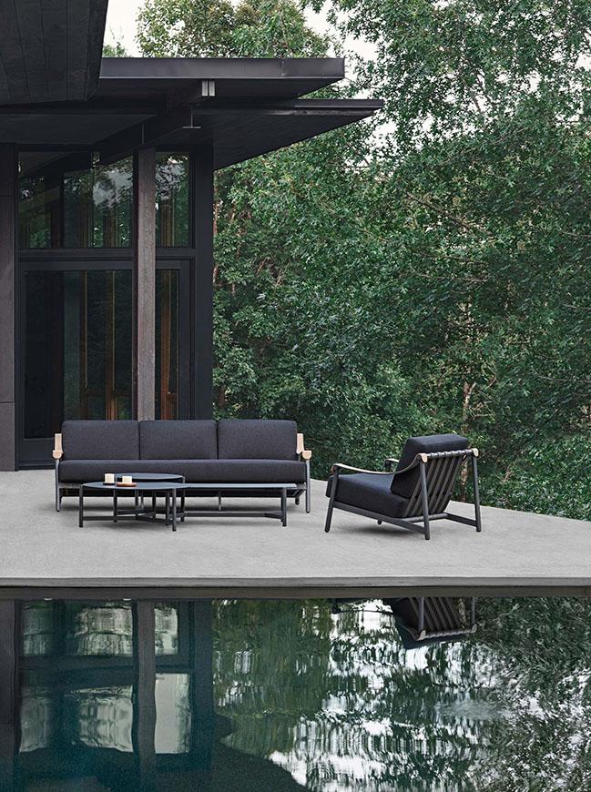 The Hudson armchair by Ramón Esteve Estudio