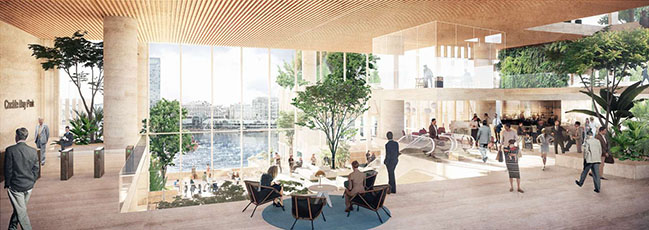 Henning Larsen Wins International Competition for Major Tower in Central Sydney