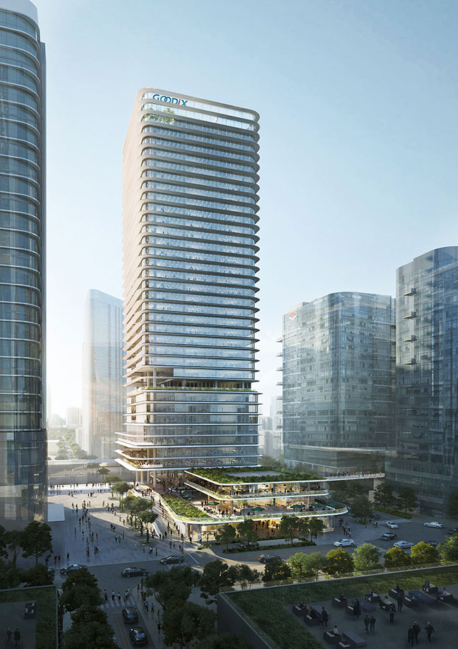 Jaeger Kahlen Partner to design GOODiX new HQ in Shenzhen