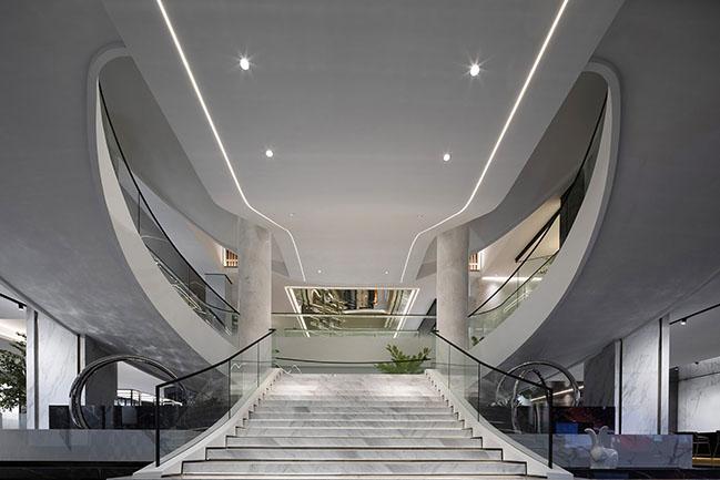 HUIYA CERAMICS Headquarters & Exhibition by Foshan Topway Design