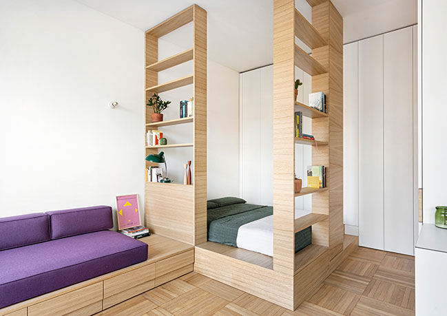 One Room Five Places by Tommaso Giunchi + ElaNandez