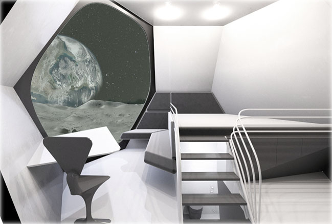 Misiats Moon station by Dmytro Aranchii Architects