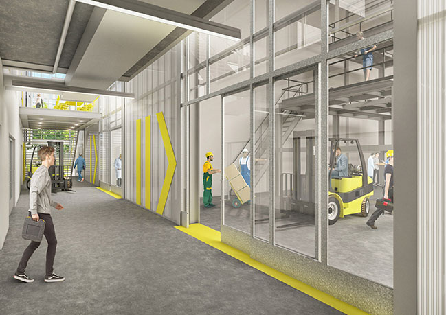 New TNO Lab for Building Innovation by GROUP A