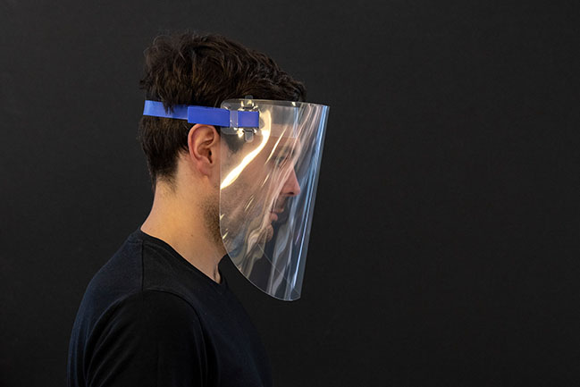 Foster + Partners shares the prototype design for a reusable face visor
