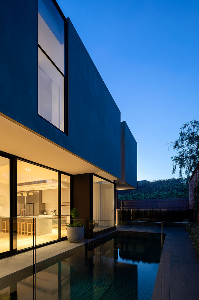 By the Pool House by Jane Riddell Architects