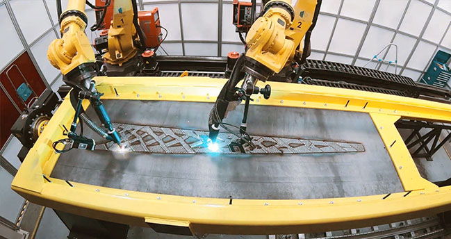 Foster + Partners breaks new ground with LASIMM 3d printing technology