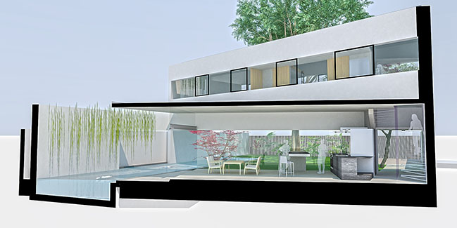 The White House by Saola Architects