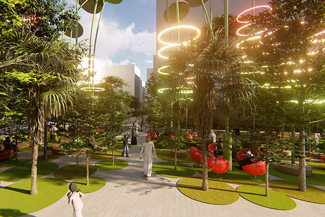 Blooming Forest By 100architects
