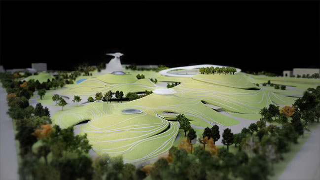 Quzhou Sports Campus by MAD Under Construction