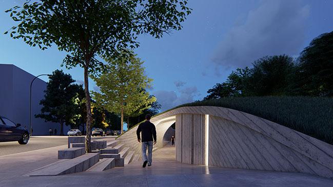 YikhTamNema | TheyAreNotThere by Dmytro Aranchii Architects