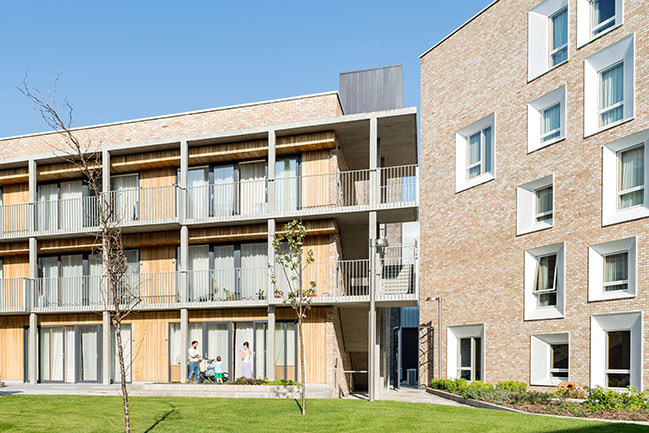 Worker Housing University of Cambridge by Mecanoo