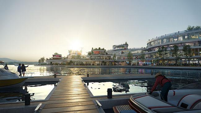 Yeosu Gyeongdo Island Masterplan by UNStudio