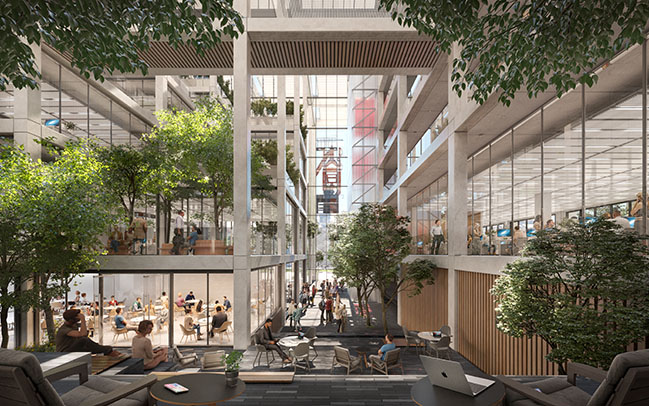 ICÔNE by Foster + Partners breaks ground in Belval