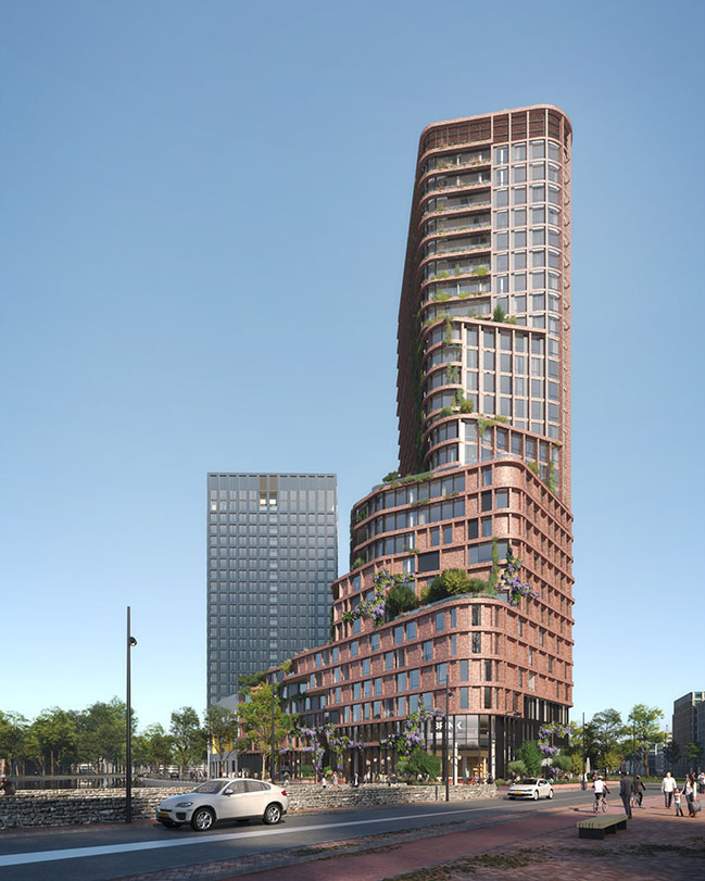 Brink Tower by Mecanoo