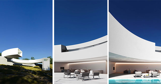 House of the Sun by Fran Silvestre Arquitectos