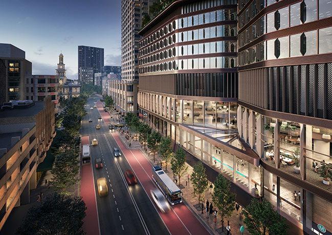 Foster + Partners revealed designs for Pitt Street OSD and metro station in Sydney