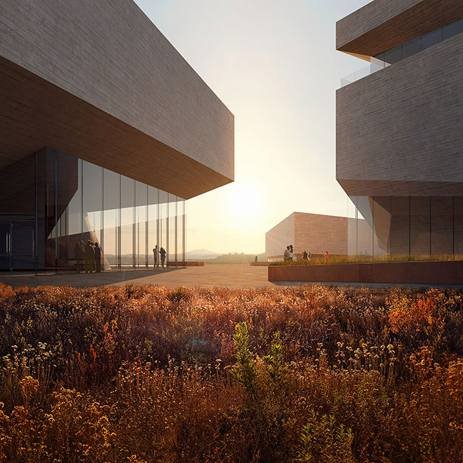 Theodore Roosevelt Presidential Library by Henning Larsen