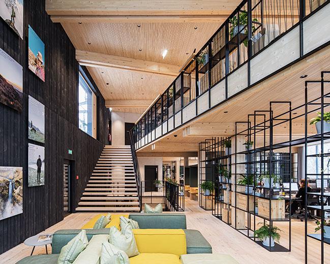ASI Reisen Headquarters by Snøhetta