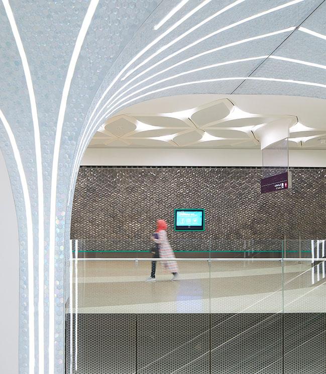 UNStudio在多哈地鐵網絡上完成的第一階段