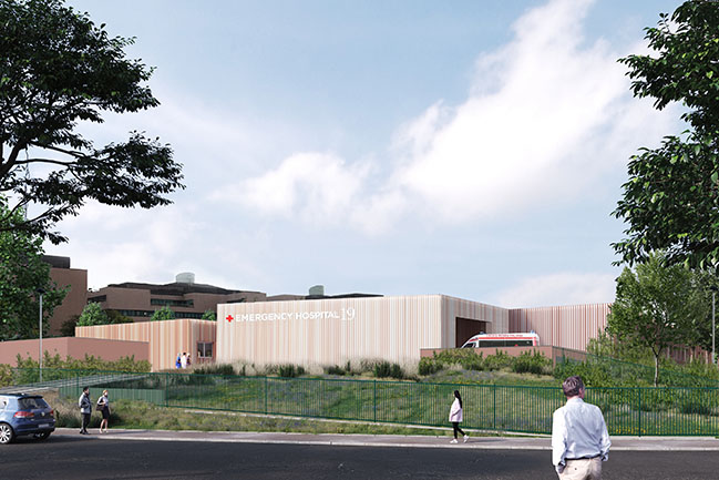 Emergency Hospital 19 by Filippo Taidelli Architetto