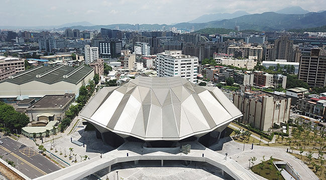 Taipei Music Center Performance Hall by RUR Architecture Opened