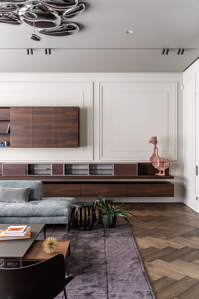 234 sqm apartment in Lviv by Replus design bureau