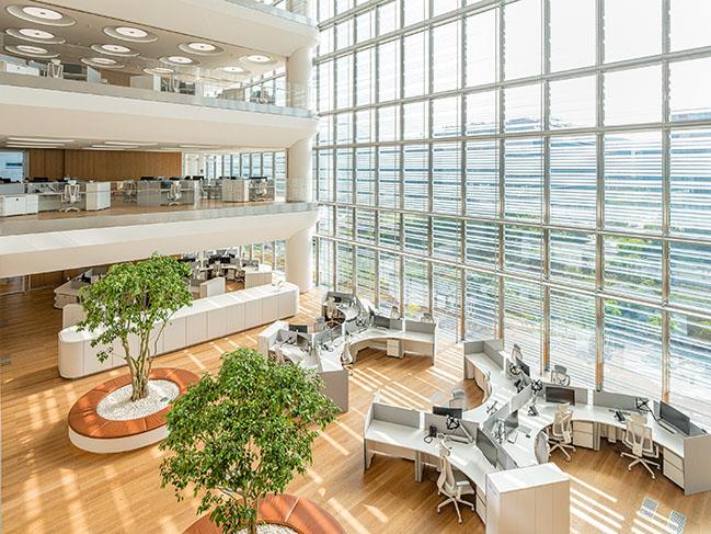 Foster + Partners的Pangyo的Hankook Technoplex开业