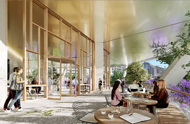 Construction begins on Avenida Cordoba 120 in Buenos Aires / Foster + Partners