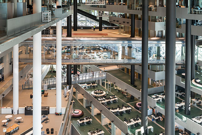 OMA-Designed Axel Springer Building opens in Berlin