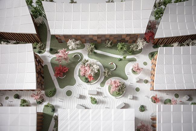 Toyota Woven City by Bjarke Ingels Group