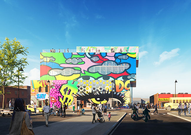 Glass Mural by MVRDV