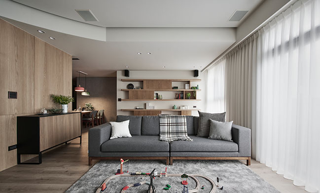 H Apartment by Awork.Design Studio