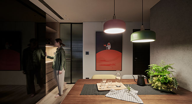 H Apartment by Awork.Design Studio