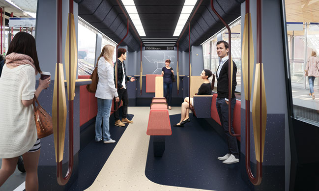 Mecanoo designs new RET Metro interior