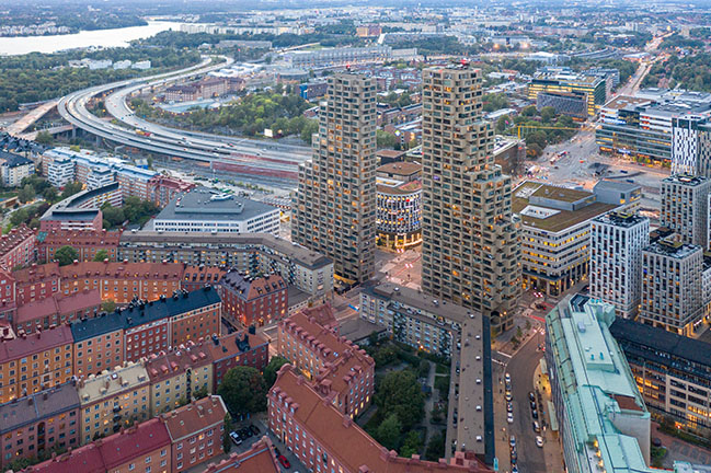 Norra Tornen by OMA / Reinier de Graaf wins the International Highrise Award 2020