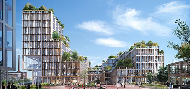 Wolfsburg Connect by Henning Larsen