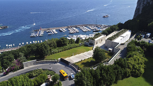 New Power Station in Capri by Frigerio Design Group