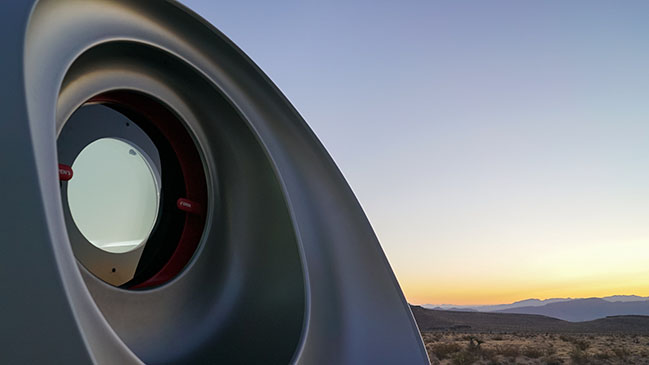 Virgin Hyperloop Pegasus by Bjarke Ingels Group and Kilo Design