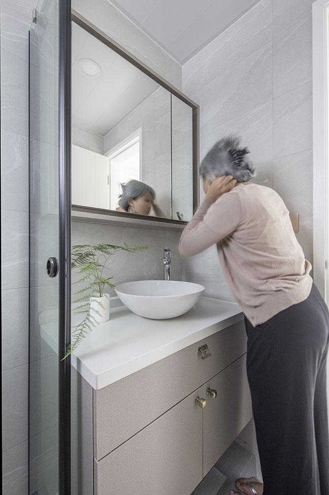 Silver Hair Silver Lining by Sim-Plex Design Studio