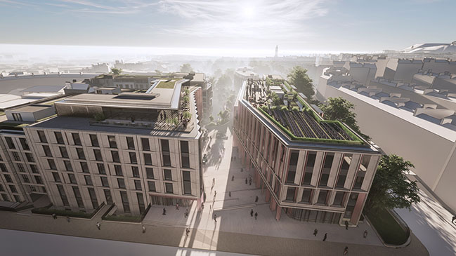 10 Design reveals images of Edinburgh's New Town Quarter Development