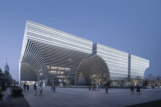 Changzhou Culture Plaza by gmp Architekten