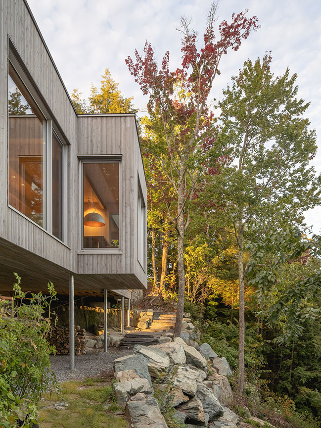 Forest House 1 by Natalie Dionne Architecture