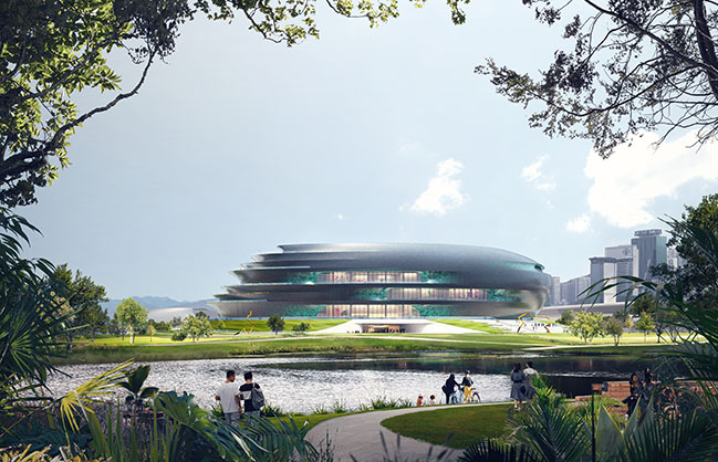Shenzhen Science & Technology Museum by Zaha Hadid Architects