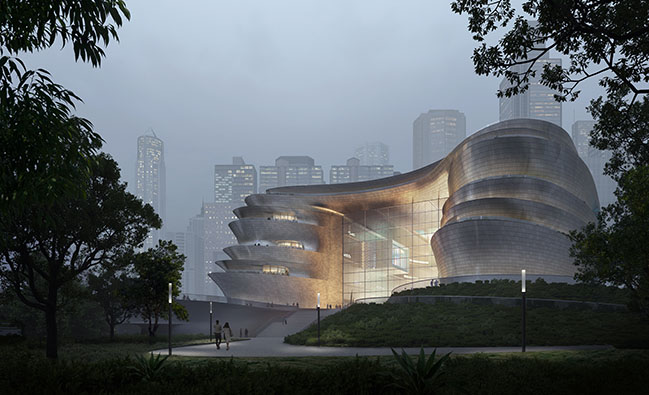 Shenzhen Science and Technology Museum by Zaha Hadid Architects