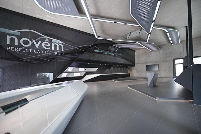 Novem's Design Center by Pininfarina
