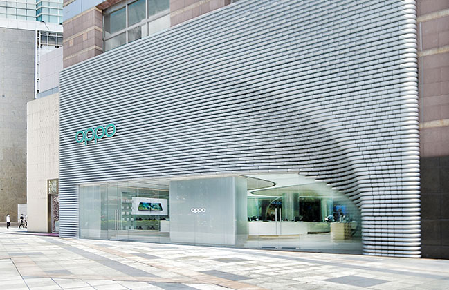 UNStudio designs two new stores for OPPO