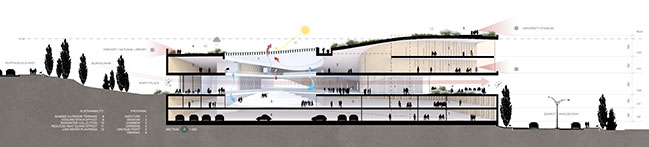 ODA revealed new design for the Academy of the Hebrew Language