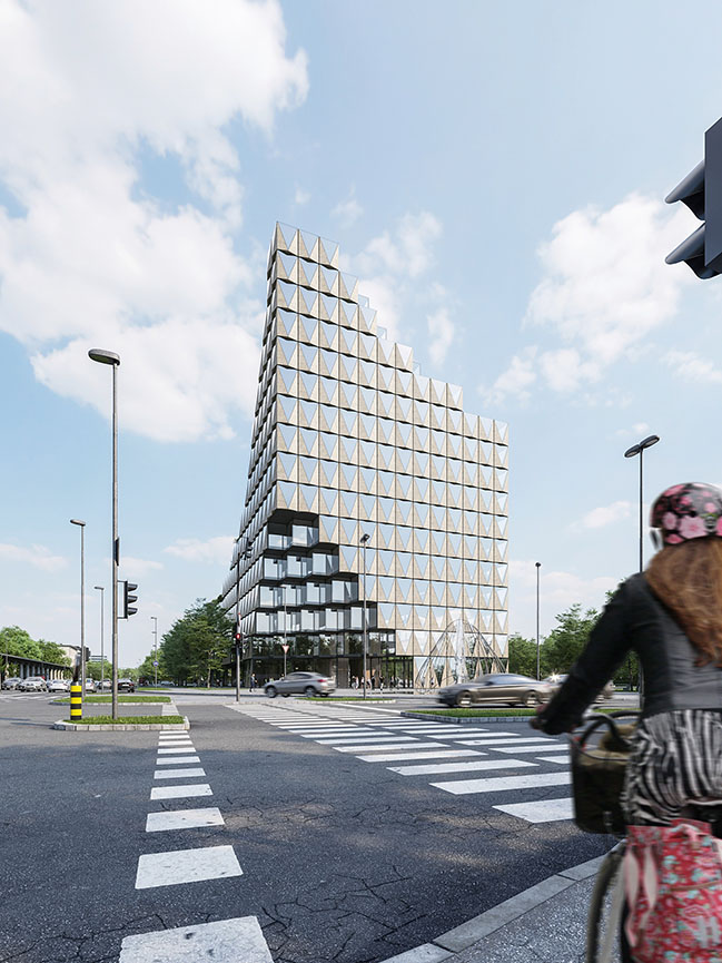 Petrol Corporate Building by ENOTA