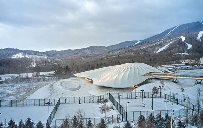 Yabuli Entrepreneurs' Congress Center by MAD Architects nears completion